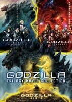 GODZILLA TRILOGY MOVIE COLLECTION - ANIME MOVIE DVD BOX SET (3 MOVIE) (ENG DUB)