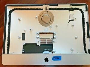 """Apple A1418 iMac 21.5"""" 2014  Rear Housing Casing Shell W/ Speakers & Stand"""