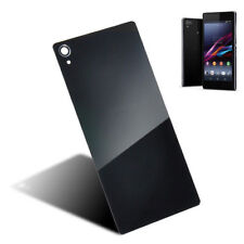 Black Back Door Battery Glass Cover Case Panel For sony Xperia Z Z1 Z2 Z3 Z4 Z5