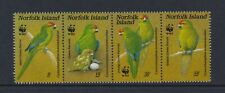 Norfolk Island - 1987, Rouge Devant Perruche Oiseau Ensemble - MNH - Sg 425/8