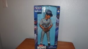 Dodgers 1998, Starting Lineup 'Hideo Nomo' full Poseable Action Figure-BaseBall