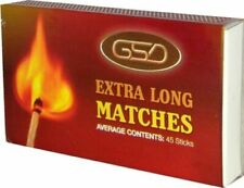 6 Boxes of GSD Extra Long Matches Ideal for BBQ Fires Candles