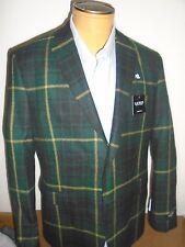 Lauren Ralph Lauren 100% Wool Campbell Tartan Plaid Sport Coat NWT 41R $395