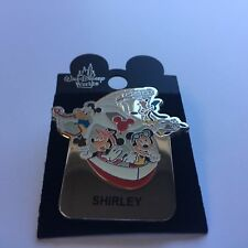 WDW Monorail SHIRLEY Name Pin FAB 4 Mickey Minnie Goofy Donald Disney Pin 15004
