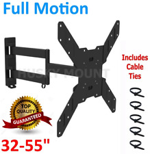Corner Full Motion Articulating TV Wall Mount Bracket 32 42 46 50 55Inch LED LCD