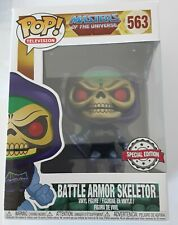 New Masters of the Universe Battle Armor Skeletor Special Edition Pop Vinyl #563
