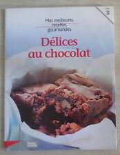 LIVRE de RECETTES : délices au chocolat * FEMME ACTUELLE Vol. 3 * cuisine