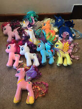 Complete Set Of 9 My Little Pony Ty Plush Soft Toy Beanie Boos