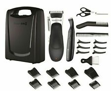 Remington HC366 Stylist Hair Clipper Set - Black/Silver