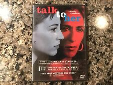Talk To Her Dvd. 2002 Drama/Mystery.
