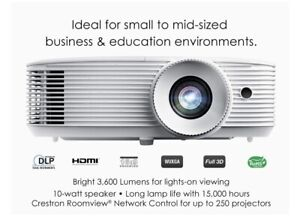Optoma WU334 WUXGA High Brightness 3D DLP Office and Business Projector