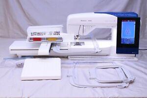 MINT HUSQVARNA VIKING DESIGNER BRILLIANCE 80 SEWING QUILTING EMBROIDERY MACHINE