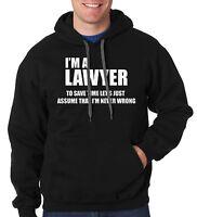 I Am A Lawyer Hoodie Hooded Sweatshirt Gift For Lawyer Law School Sweater