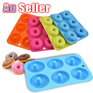 Donut Muffin Chocolate Cake Silicone Baking Mold Cookie Cupcake Mould Pan