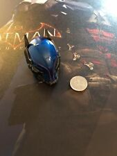 Hot Toys Batman Arkham Knight Blue Head Sculpt LED VGM28 loose 1/6th scale