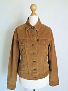 LEVI'S Red Tab Women's Stretch Corduroy Jacket Size M - fits UK10 Immaculate!
