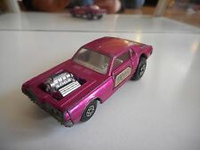 Matchbox Speed Kings Cougar Dragster in Purple