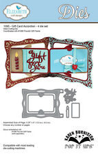 Karen Burniston Pop It Ups Elizabeth Craft Designs - Gift Card Accordian 1095