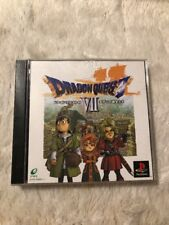 No Manual Dragon Quest VII 7 PS 1 PlayStation PS1 Fair Japan Import US Seller