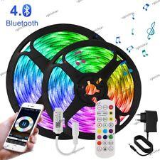5m-20m LED Stripe RGB Leiste Streifen 5050 Band Wasserdicht Leuchte Lichterkette