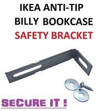 IKEA ANTI-TIP BILLY LIBRERIA Sicurezza Staffa CASSETTIERA BAMBINO SICURO