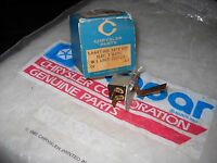 NOS MOPAR 1957-1958-1959 TAIL GATE ELECTRIC WINDOW SWITCH PLYMOUTH DESOTO CHRY