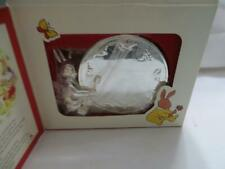 Royal Doulton Bunnykins Silver Plated Money Box Tirelire