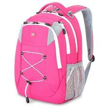 "BACKPACK / SWISS GEAR / CLASSIC PINK BUNGEE 18"" PADDED / SWISSGEAR WORK OR PLAY"