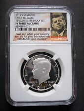 2016-S  NGC SILVER PF-70 EARLY RELEASE W/QUOTE KENNEDY HALF DOLLAR ULTRA CAMEO