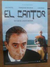 Affiche EL CANTOR lou CASTEL francoise MICHAUD luis REGO 40x60cm *