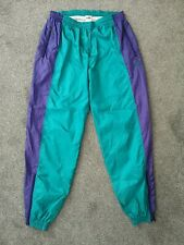 Vintage 80s PUMA Tracksuit Trackie Shell Suit Bottoms Pants - Size Large