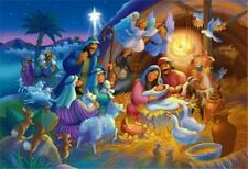 Vermont Christmas Heavenly Night Nativity 100 Piece Jigsaw Puzzle Manger Fun