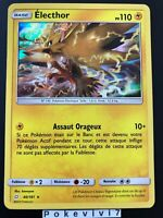 Carte Pokemon ELECTHOR 40/181 Holo Soleil et Lune 9 SL9 FR NEUF