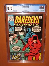 Daredevil #69 CGC 9.2 with BLACK PANTHER on the COVER! 12 HD pix Ships insured!