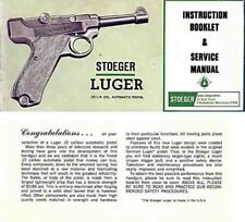 Stoeger Luger .22 Manual c1969