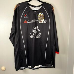 Pactimo Mens Size 2XL Sport Shirt Cycling Casual Black Tuesday Night Special