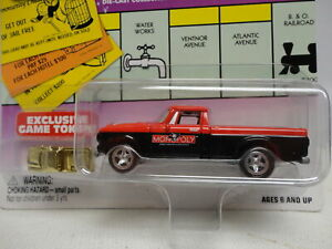Johnny Lightning '60s STUDEBAKER TRUCK Red 1960s MONOPOLY Indiana Avenue Pickup