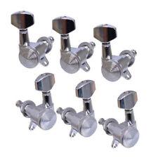 Guitar String Tuning Pegs Locking Tuners Keys Machine Heads 3X3 Chrome