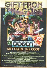 Gift From The Gods Ocean Game 1985 Vintage Magazine Advert #5315