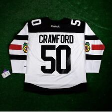 96f34a5a2 2016 NHL Stadium Series Reebok Official Premier Jersey Collection - Men's Chicago  Blackhawks Corey Crawford M