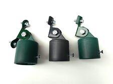 Strebenkappe mit Strebenkappenhalter Halter komplett Zaunstrebenkappe Zaunkappe