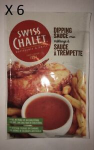 Swiss Chalet Dipping Sauce Mix x 6 Packets Made in Canada New Unopened