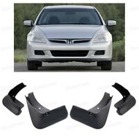 4 Mud Flaps Splash Guard Fender Car Mudguard for Honda Accord Sedan 2003-2007