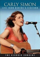 Live From Martha's Vineyard by Carly Simon (DVD, May-2010, Iris)