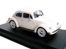 1/43 - IXO - EN BOITE VITRINE - VW COCCINELLE / BEETLE  ( PNEUS FLANCS BLANCS )