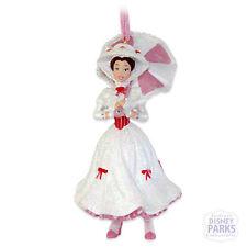 Disney Parks Figurine Ornament Mary Poppins Pink Parasol