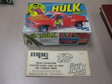 BOX ONLY FOR A HULK MPC SNAP-TOGETHER HULK HAULER MODEL KIT -BOX ONLY-