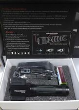 TORCIA CREE A LED POLICE REGOLABILE 80000 W WATT T6 3600 LUMEN POWER ZOOM *CA*