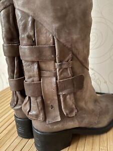 AS 98 Women's Knee Hight Boots Size US 9 EU 40
