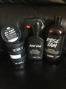 Lush Rose Jam Ro's Argan Set Bundle Job Lot OOD